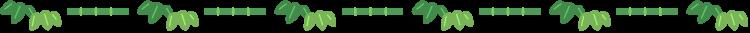竹の罫線イラスト02