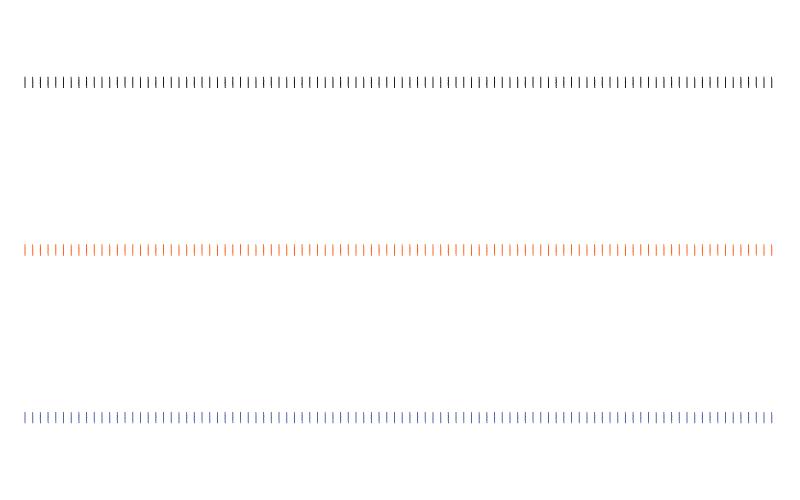 縦のかすれ線の罫線イラスト02