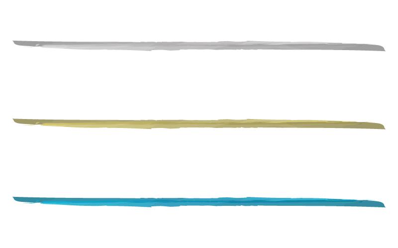 水彩風の罫線イラスト02