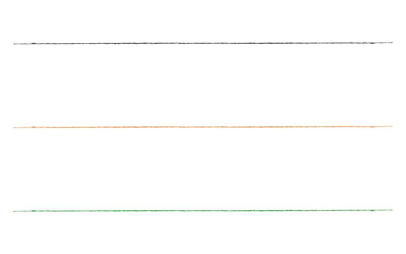 和風・シンプルなかすれ線の罫線イラスト02