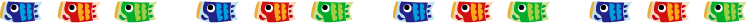 子どもの日・鯉のぼりの罫線イラスト